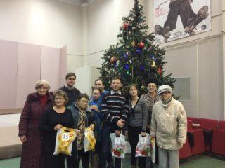 Вручение подарков участникам конкурса.