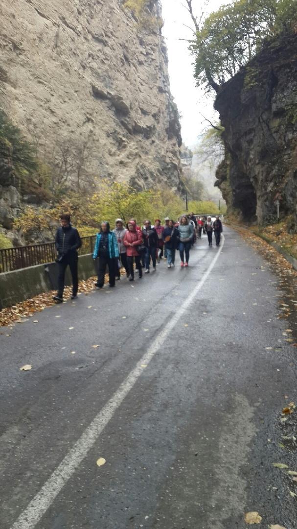 Дневник туристической поездки на Кавказ.