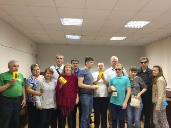 отборочный этап I всероссийского конкурса среди незрячих и слабовидящих пользователей мобильной техники