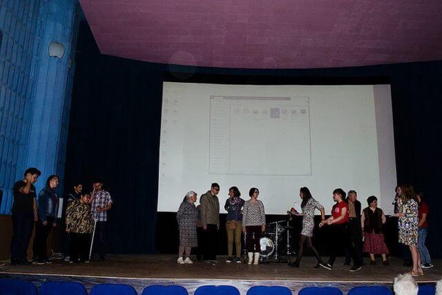 """Презентация проекта """"Мир без границ"""""""