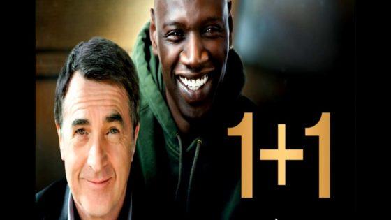 """Постер фильма """"1+1""""."""