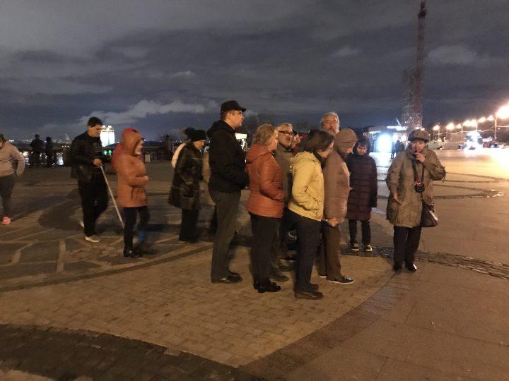 Вечерняя экскурсия по Москве.
