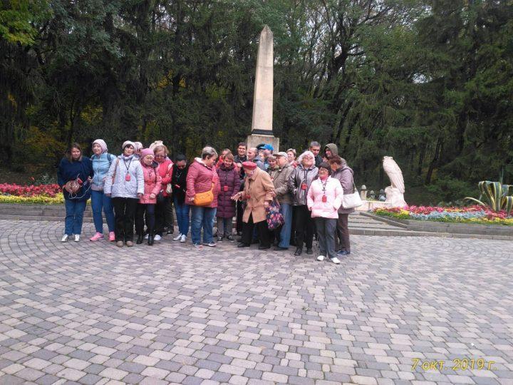 Памятник на месте дуэли М.Ю. Лермонтова.
