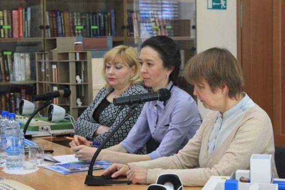 круглый стол «Современные практики информационного обеспечения незрячих и слабовидящих».
