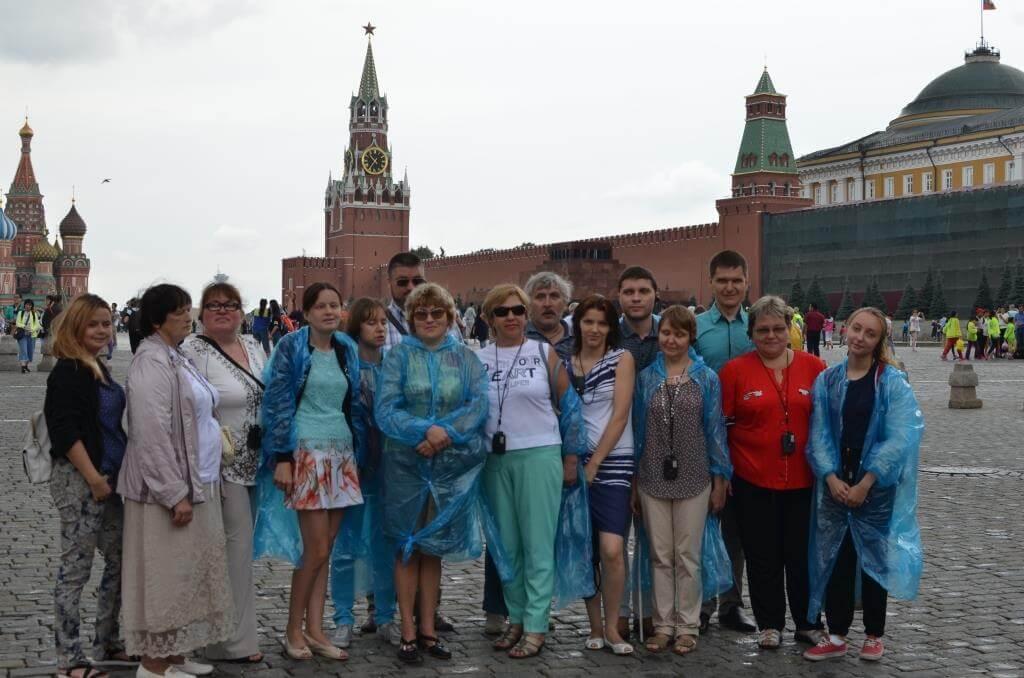 С 18 по 22 июля 2016 года группа незрячих туристов из Нижегородской области совершила экскурсионную поездку в столицу