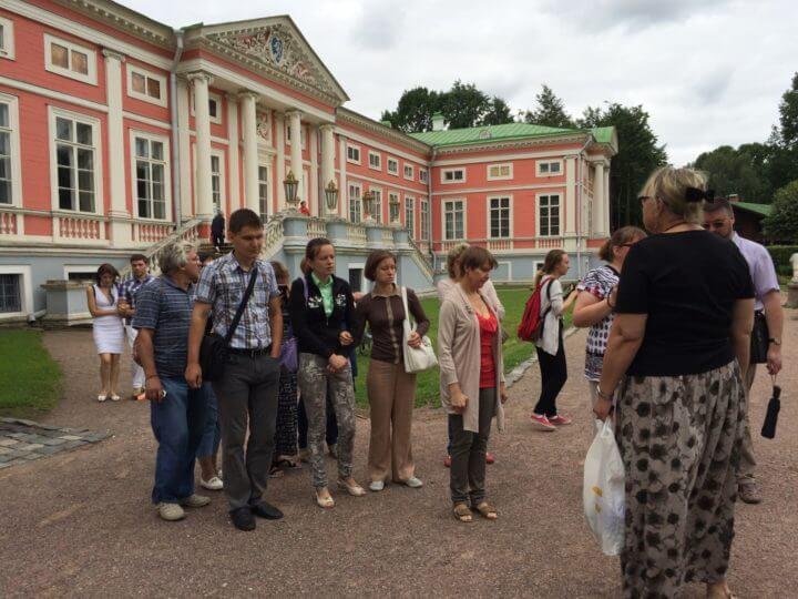 Экскурсия в Москву.