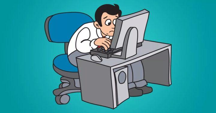 """Проект """"Компьютер помогает сберечь зрение""""."""