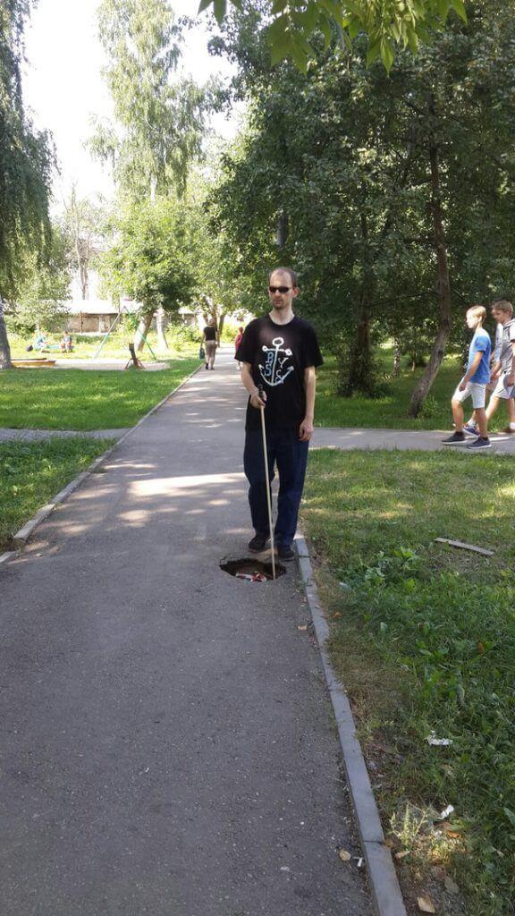 Впервые в Нижегородской области организованы регулярные занятия по ориентировке в пространстве