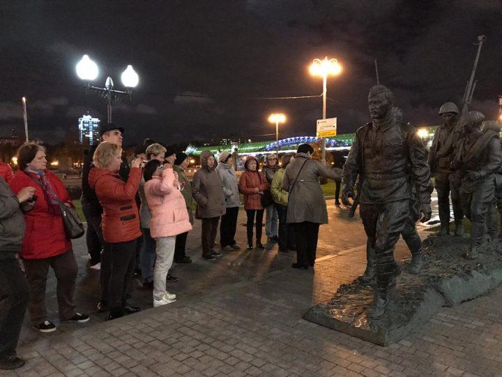 11 октября - Огни Москвы.