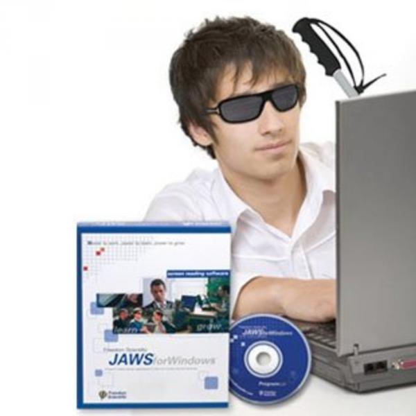 """Вебинар """"Полезные для школьников и студентов функции программы экранного доступа JAWS""""."""