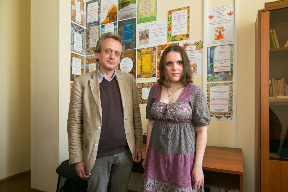 Оксана Осадчая и Алексей Гиппиус.