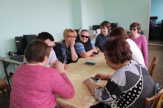 Курсы по невизуальной доступности сенсорных устройств в Саранске.