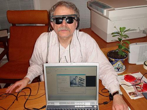 Обучение основам тифлотехнологий слепых и слабовидящих людей.